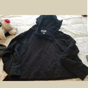Victoria's Secret black crop jacket M